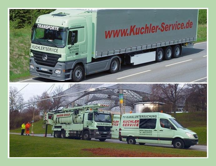 Kuchler Service - Abflussdienst & Rohrreinigung in München Cham Regensburg Deggendorf