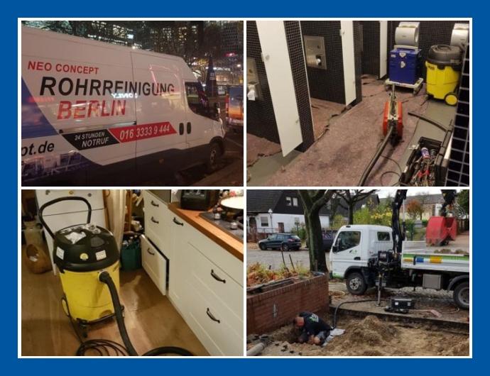 Neo Concept Rohrreinigung - Notdienst in Berlin und Potsdam