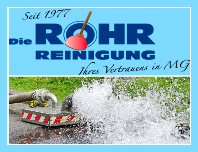 Die Rohrreinigung Ute Wegener e. K. - Rohrreinigung in Mönchengladbach nahe Düsseldorf, Viersen, Grevenbroich