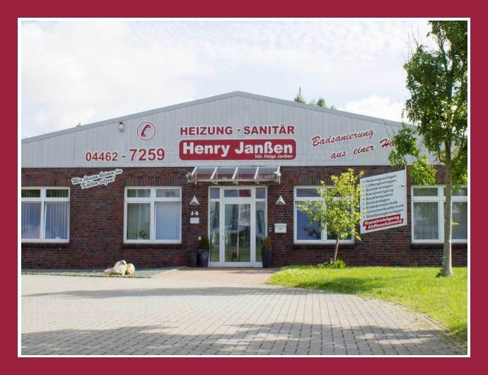 Henry Janßen GmbH - Rohrreinigung in Wittmund nahe Aurich, Wilhelmshaven, Bremerhaven