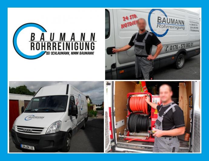 Rohrreinigung Baumann - Notdienst in Kamen, Dortmund, Hamm, Herne, Bochum