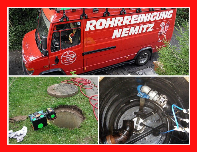 Rohrreinigung Nemitz in Bad Breisig, Andernach, Mayen, Neuwied