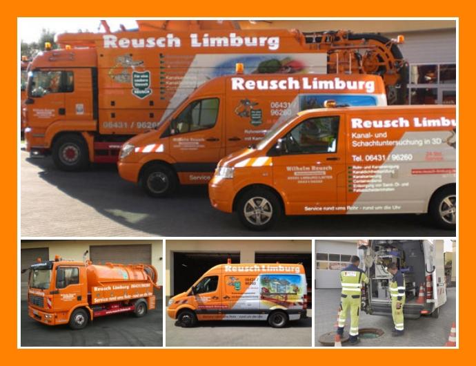 Wilhelm Reusch GmbH - Rohrreinigung in Limburg an der Lahn nahe Montabaur, Koblenz, Wetzlar